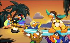 Teen Beach Movie (Club Penguin Style)