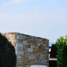 Sandstone House Wall Palm Beach Sydney