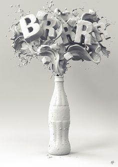 COKE BRRR by MMJ Studio , via Behance