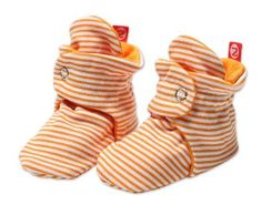 Amazon.com: Zutano Baby-Girls Infant Candy Stripe Bootie: Clothing