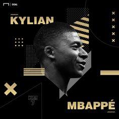 pencil drawings - Kylian Mbappé Goal com Sports Graphic Design, Graphic Design Posters, Graphic Design Inspiration, Sport Design, Photoshop Design, Design Package, Poster Design Layout, Football Design, Affinity Designer