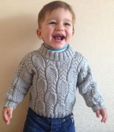 Ravelry: Cable & Seed Stitch Sweater pattern by Nelya Koval Free pattern Sport wpi) ? Gauge 24 stitches and 28 rows = 4 inches in Cable & Seed Stitch Needle size US 6 - mm Yardage 252 - 109 yards - 100 m) Sizes available months Free Aran Knitting Patterns, Baby Boy Knitting Patterns, Baby Sweater Patterns, Baby Cardigan Knitting Pattern, Knitting For Kids, Free Knitting, Baby Patterns, Knitting Designs, Start Knitting