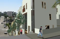99 n. palm, ventura mixed use project @ studioDIG architects Building Architecture, Modern Architecture, Mixed Use, Home Projects, Sustainability, Architects, Palm, Multi Story Building, Design