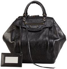 Balenciaga Classic Zip Traveler Backpack, Black Balenciaga Wallet,  Balenciaga City Bag, Balenciaga Handbags 29fa38817e