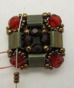 Layered Tila Bracelet Beading Tutorial