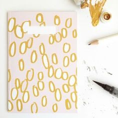 Cheerios Patterned Notebook