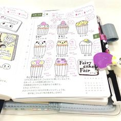 Definitely need more pictures of cupcakes in my journals...