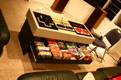 See more ideas about man cave video game room, video game designer an Nerd Room, Gamer Room, Diy Projects Videos, Projects To Try, Geek Mode, Deco Gamer, Video Game Rooms, Video Game Man Cave Ideas, Video Game Table