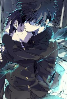 Find images and videos about boy, art and anime on We Heart It - the app to get lost in what you love. Manga Anime, Anime Guys, Anime Art, One Punch Man, Jojo's Bizarre Adventure, Mob Psycho 100 Anime, Mob Physco 100, Demon Slayer, Kageyama