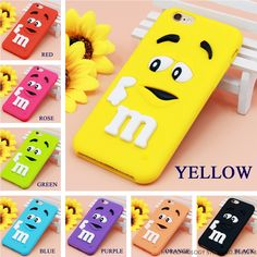 Cartoon M&M's Chocolate Candy Rubber Case For iPhone 6 6S 7 Plus 4 4S 5C SE 5 5S Best Quality Soft Silicone Back Cover Fundas #>=#>=#>=#>=#> Click on the pin to check out discount price, color, size, shipping, etc. Save and like it!