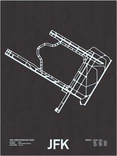 FFFFOUND! | Airport Runway Screen Prints - Minimalissimo