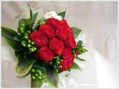 赤いバラの花束 / Red Rose Bouquet for propose