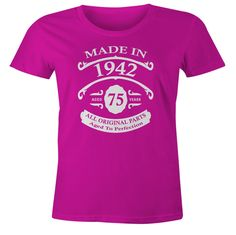 Birthday shirts have been our most popular line of shirts. These shirts make incredible birthday gifts. A Birthday Party, 25th Birthday Gifts, Birthday Shirts, Birthday Ideas, Birthday Woman, Happy Birthday, 50 Party, 33rd Birthday, Birthday Outfits