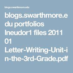 blogs.swarthmore.edu portfolios lneudor1 files 2011 01 Letter-Writing-Unit-in-the-3rd-Grade.pdf