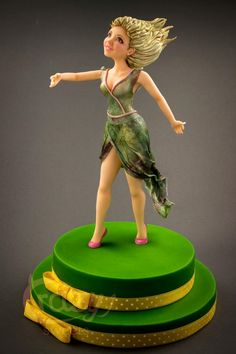 Dancing Girl made in Fondant