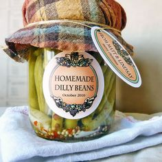 Be Amazed With These Five Recipes Using Dill Pickle Vodka Canning Labels, Canning Recipes, Vodka Potato, Dilly Beans, Pickle Vodka, Homemade Beans, Garlic Cheese, Stuffed Pasta Shells, Mixed Vegetables