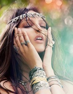 lovely nature like jewelry #boho jewelry #tribal jewelry
