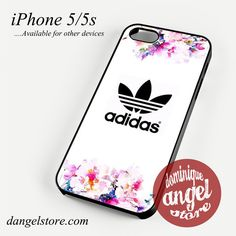 Adidas with flowers Phone Case for iPhone 4/4s/5/5c/5s/6/6s/6 Plus for $10.99