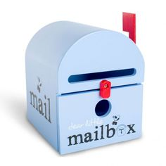 Dear Little Mailbox - Blue Your Dear Little Mailbox comes lovingly packaged with a notepad, coloured pencils, sharpener, little envelopes, sticker set and sticker stamps. Dear Little Mailbox is a fun & Inspiring way to engage your child to write and be creative. Encourage your child to write letters to grandparents, Santa, the Tooth fairy, Easter bunny, or whoever their heart desires.  #alltotstreasures #dearlittlemailbox