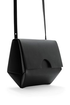 COS image 4 of Small constructed bag in Black