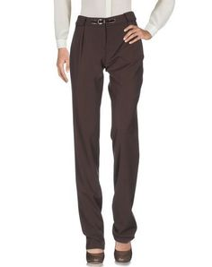 BLUGIRL BLUMARINE Women's Casual pants Dark brown 10 US