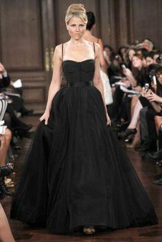 Opera gown: semi-sweetheart neckline, spaghetti straps set wide, wide belt, full chiffon skirt to floor.