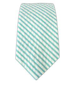Skinny Seersucker Tie
