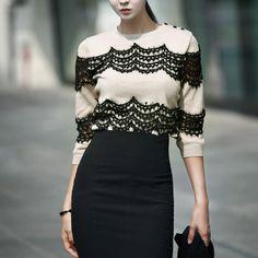 feminine Knit  luxury knit dint 딘트
