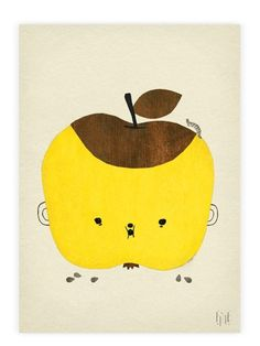 Fine Little Day Apple Papple Poster (50x70cm)