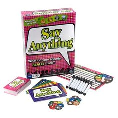 Say Anything Game!!! This is a great game!!!