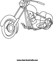 Harley-Davidson Coloring Pages to Print | Free Motorcycle coloring ...