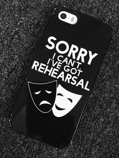 The classic: I can't, I have rehearsal | 30 Signs You're A Musical Theatre Major #bfaproblems #broadwaybaby