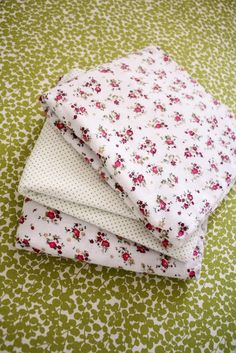 Nesting: Sweet and Simple Swaddling Blankets - delia creates