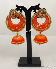 Price For Orders, Whatsapp to 8754032250 We Ship to All Countries Gold Jewelry For Sale, Gold Wedding Jewelry, Silk Thread Bangles, Thread Jewellery, Diy Jewellery, Silk Thread Necklace, Jewelry Patterns, Crochet Earrings, Countries