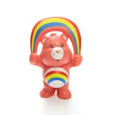 Cheer Bear Skipping Rope Care Bears PVC Miniature