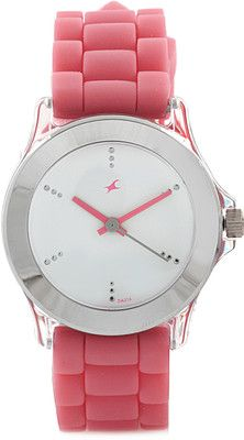 Fastrack Beach Analog Watcxh   For Women Pink