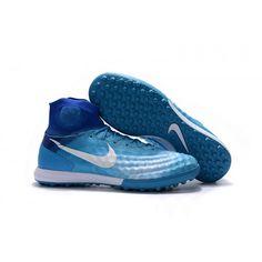 the latest e12ee c6d08 Nike Magista Obra II TF Football Boots Blue White