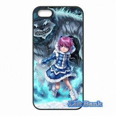 Cover For Apple iPod Touch 4 5 6 iPhone 4 4S 5 5S 5C SE 6 6S Plus 4.7 5.5 LOL Dark Child Annie League of Legends Hard Phone Case