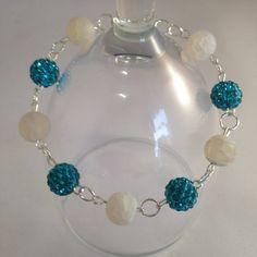 Turquoise beaded bracelet Bride to be Mother of the by Mandymoos72 #etsy #etsyselleruk #etsyshop #turquoise #turquoisebracelet #weddinggift #weddingjewelry #bridesmaidsgift #uk #crook #england #durham #bracelet #jewelry