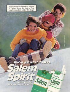 Salem cigarette types