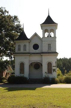 South Carolina..    http://www.sciway.net/sc-photos/jasper-county/euhaw-baptist-church.html