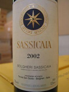 Tenuta San Guido Red Bordeaux Blend Bolgheri Sassicaia Sassicaia