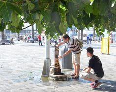 La fontanella del Porto Antico #Genova