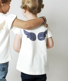 Adorable t-shirt, make with Faerie shaped wings!