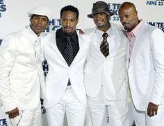 The Wayans brothers -  Marlon, Shawn, Damon & Keenan