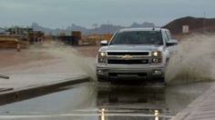 2014 Silverado Durability Testing - The Chevrolet Silverado benefits from 12.5 million miles of validation and durability testing. GM's all-new full-size trucks undergo tests such as the Belgian blocks, the off-road simulating grit trough, 30 percent grades and high speed driving.