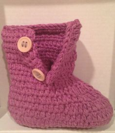 Crochet Baby Booties, Newborn Crochet Shoes, Boutique Booties, Baby Shoes, Crochet Booties, Baby Shoes on Etsy, $14.99