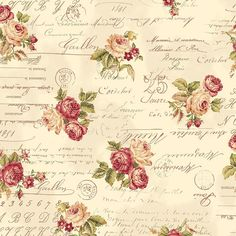 Find images and videos about beauty, vintage and wallpaper on We Heart It - the app to get lost in what you love. Decoupage Vintage, Vintage Diy, Images Vintage, Vintage Ephemera, Vintage Pictures, Vintage Cards, Vintage Paper, Vintage Floral, Vintage Roses