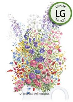 Grandmother's Cut Flower Garden Seeds