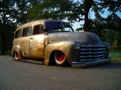 1949 Chevy Suburban #classic #car